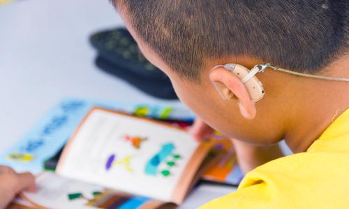 Imagem do curso Educação Especial na Área da Deficiência Auditiva-Surdez